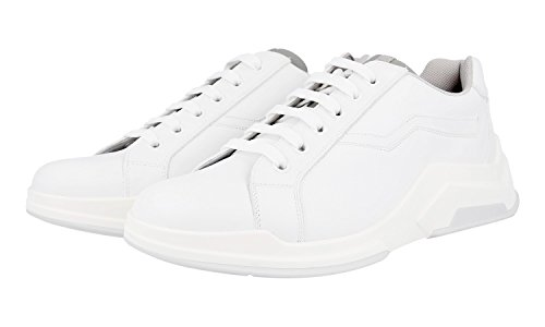 Prada Men's 4E2800 BSY F0009 Leather Trainers/Sneaker cheap sale new 4nbS0wvohY
