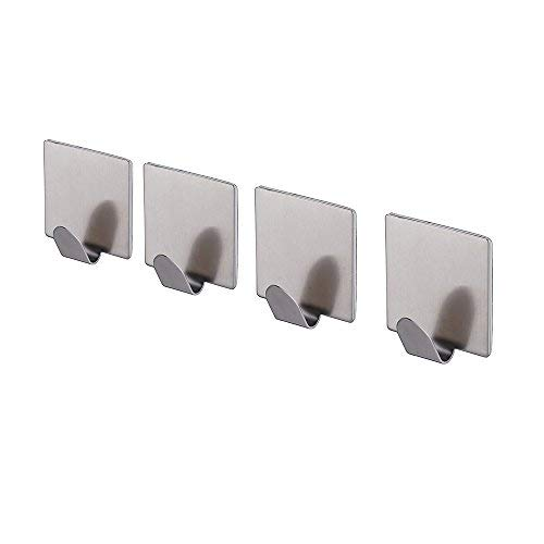 KES Self Adhesive Hooks Key Rack SUS 304 Stainless Steel Gar