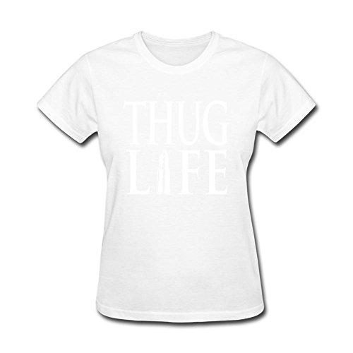xingl-womens-thug-life-design-short-sleeve-t-shirt