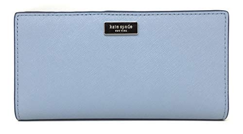 Kate Spade New York Laurel Way Stacy Leather Wallet (Blue Dawn)