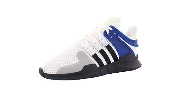 Grade School Adidas Originals Equipment Support ADV J Sneaker Blue//white//Gray