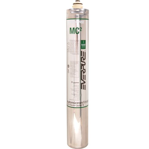 EVERPURE MC{2} Water Filtration Cartridge For Fountain Beverage and Combination Systems EV9612-55