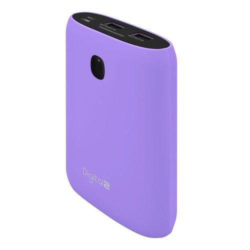 Digital2 8800mAh Portable Battery PRO - Purple (DP-8800F_PL)