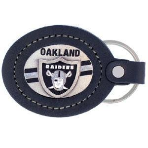 Oakland Raiders Silver Leather - 2