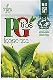 PG Tips Black Tea, Loose Tea, 8.8-Ounce Boxes (Pack of 6)