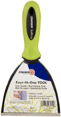 Zinsser & 98010 Soft Grip 4-In-1 Tool