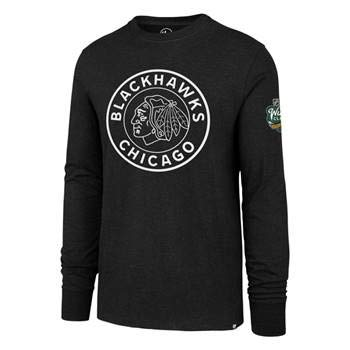 8ad207330a3 Image Unavailable. Image not available for. Color: '47 Chicago Blackhawks  2019 Winter Classic Official Long Sleeve Club Tee ...