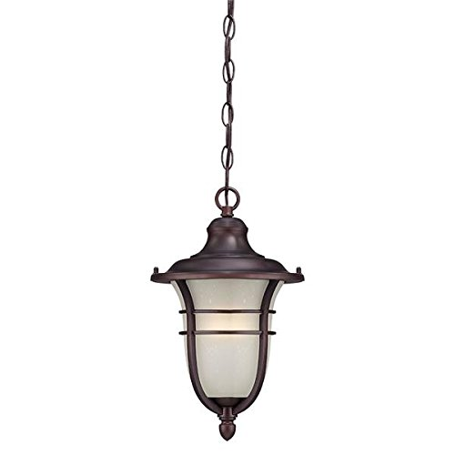 Acclaim 3666ABZ Montclair Collection 1-Light Outdoor Light Fixture Hanging Lantern, Architectural Bronze by Acclaim