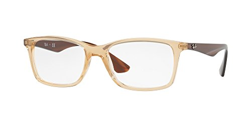 Ray-Ban Men's 0RX7047 Trasparent Beige One Size