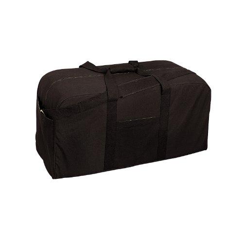 Rothco Canvas Jumbo Cargo Bag (Ft822), Black