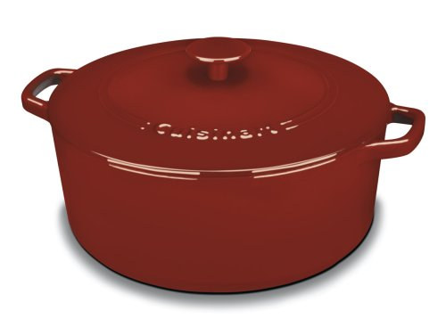 cuisinart-ci670-30cr-chefs-classic-enameled-cast-iron-7-quart-round-covered-casserole-cardinal-red