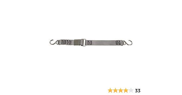 BoatBuckle Stainless Steel Kwik-Lok Gunwale Tie-Down