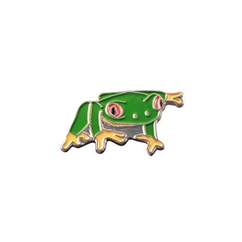 - Minimum Mouse Tree Frog Enamel Lapel Pin Badge
