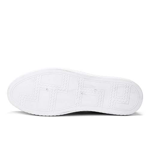 Barca Scarpe Uomo Casual Slip Slip Chiaro Sneaker On da Canvas Grigio On Espadrillas X1xZXw