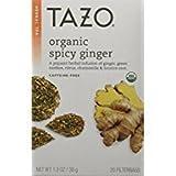 Cheap TAZO Organic Spicy Ginger Caffeine-Free Tea 20 tea bags per box(2 Pack)