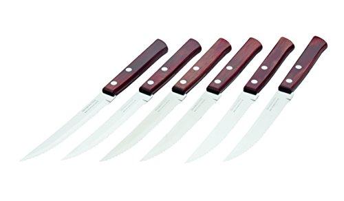 Tramontina Polywood steak knife set-6 piece