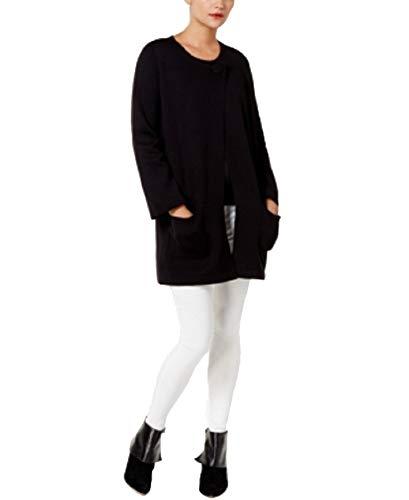 Alfani Sweater - Alfani Sweater Coat (Deep Black, M)