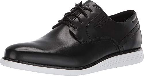 Rockport Men's Total Motion Sports Dress Plain Toe Black/White 10.5 M US