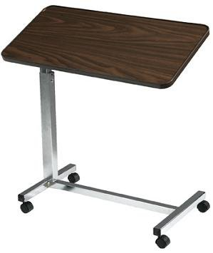 Drive Medical Deluxe Tilt Overbed Table - 1 (Tilt Top)