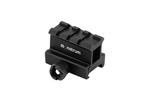 - Monstrum Tactical High Profile Picatinny Riser Mount (1