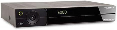 Telestar Diginova HD digitaler HDTV Sat Receiver (CI, HDMI, Scart, USB 2.0, PVR ready) schwarz