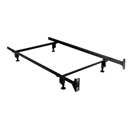 Amazon Com Myeasyshopping Full Size 5 Leg Metal Bed Frame With
