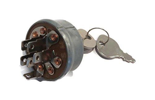 The ROP Shop Ignition Key Switch & Keys for Exmark 1-543070 Hustler 045898 Troy-Bilt 1754250P