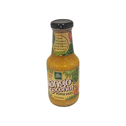 The Fresh Market Mango Coconut Pepper Sauce 10.5 fl oz