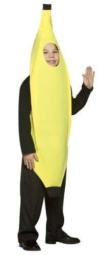 Rasta Imposta Lightweight Banana Children's Costume, 7-10, -