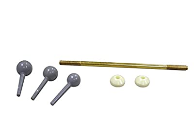 Danco 88532 Universal Fit Pop-Up Drain Ball Rod Assembly, Chrome