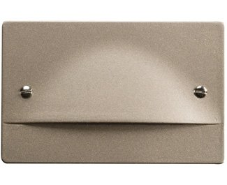 Kichler 12662NI Step and Hall 120V LED Step Light Non-Dimmable, Brushed Nickel