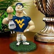 Memory Company NCAA Officially Licensed Limited Edition West Virginia Mountaineers Mascot Figurine - Ncaa Rivalry Figurine