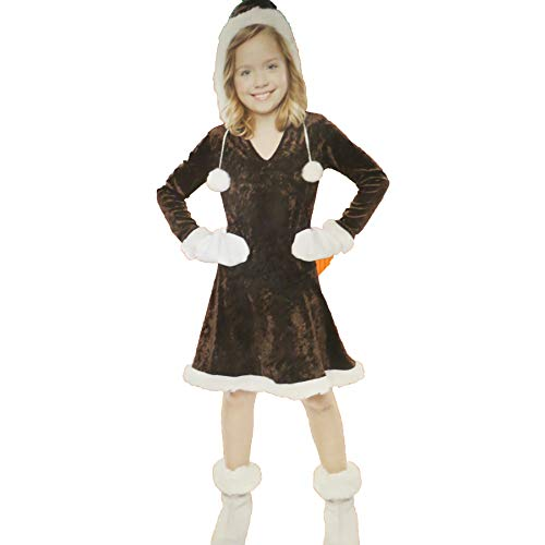 Eskimo Cutie Halloween Costume Dress for Girls Size Small 4-6 -