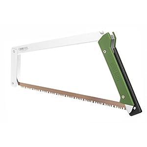 Agawa Canyon - BOREAL21 Folding Bow Saw - Clear Frame, Green Handle, All-Purpose Blade