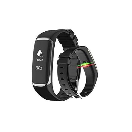 Bracelet dActivité Goo Sleep Care • Montre Connectée prévient Apnée du Sommeil • Smartwatch Cardiofréquencemètre • Tracker Calcule Taux dO2 dans Le Sang ...