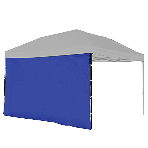 Punchau Canopy Sidewall Kit - Sidewalls for Pop Up Canopy Tent, 10 x 10 Feet - with or Without Door - 5 Colors to Choose from (Sidewall Attachment, Blue)