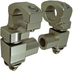 Rox Speed FX Elite Series Anti-Vibration 2in. Pivot Risers 1R-AV2PP (Series Handlebar Controls)