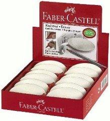 Price comparison product image Faber-Castell Kosmo 1Pièce White Plastic Eraser Erasers Erase (Plastic, White, 1pc (S) (S))