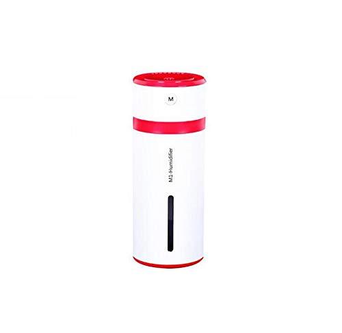 GAX Humidificador Doméstico Aire Pequeño USB Coche Humidificador Ultrasónico Regalo Creativo, Green [Clase de eficiencia energética A]