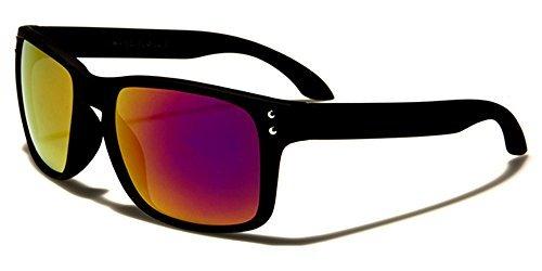 multicolore Multicoloured Homme Black Lunettes Other Lens de Purple soleil zngxzIFXq