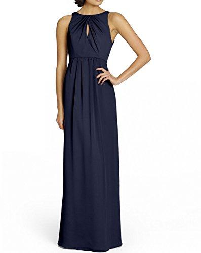 KA Beauty - Vestido - para niña azul marino