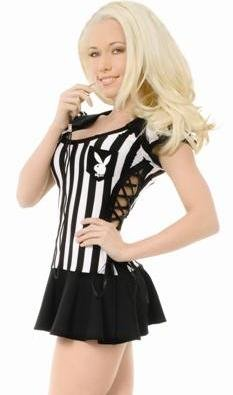 Racy Referee Adult Costume - Small]()