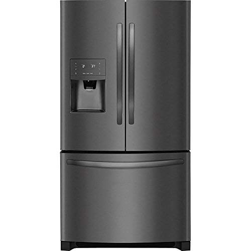 Frigidaire FFHB2750TD 36 Inch French Door Refrigerator with 26.8 cu. ft. Total Capacity, in Black Stainless Steel