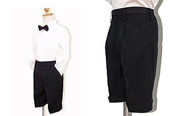 d5fbda3ed4079 CC-Princess 130『子供用・黒のハーフパンツ・半ズボン (