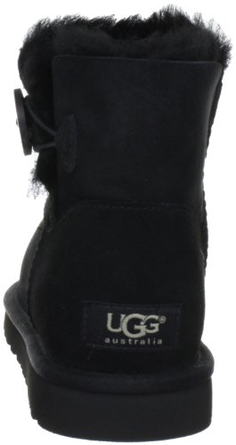 Ugg Womens Mini Bailey Bouton Noir