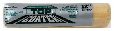 Linzer Top Coater Driveway Sealer Roller Concrete 3/4