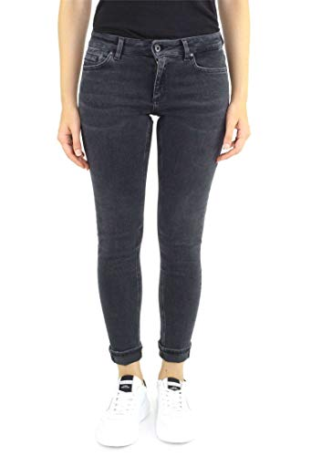 DONDUP DP238/DS198-GAYNOR Jeans Femme Gris