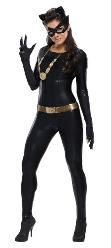 Rubie's Costume Grand Heritage Catwoman Classic TV Batman Circa 1966, Black, Medium Costume