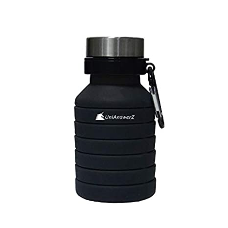 Amazon.com: UniAnswerZ - Botella ajustable sin BPA.: Sports ...
