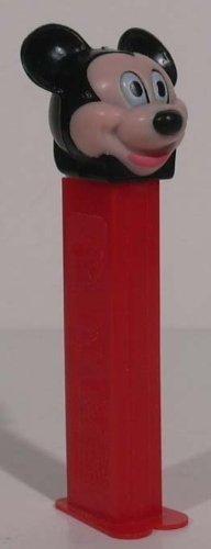 Vintage Pez Dispensers (Mickey Mouse PEZ Dispenser - Vintage 1976)